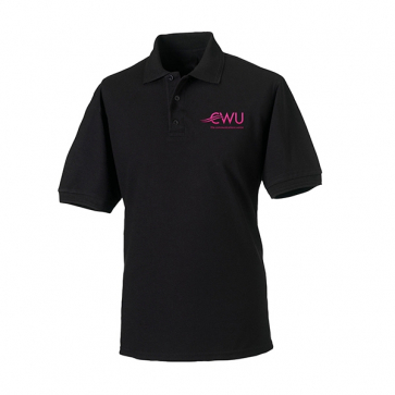 CWU Polo Shirt Black