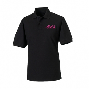 CWU Polo Shirt Black