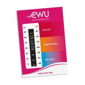 Temperature Gauge Card  (Personalised)