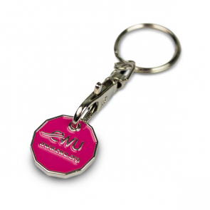 CWU NEW SHAPE Trolley Coin Key Ring
